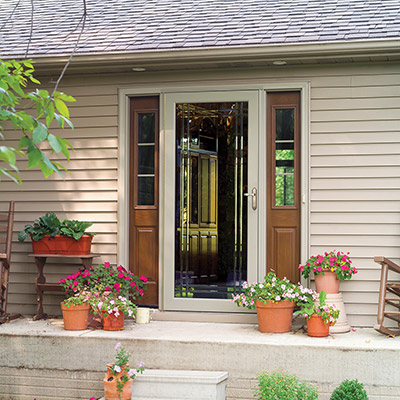 decorator storm door