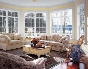 many double hung windows