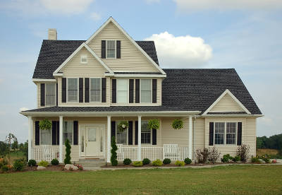house with vinyl siding