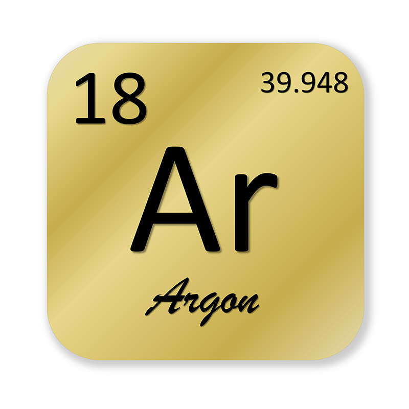 atomic number for argon