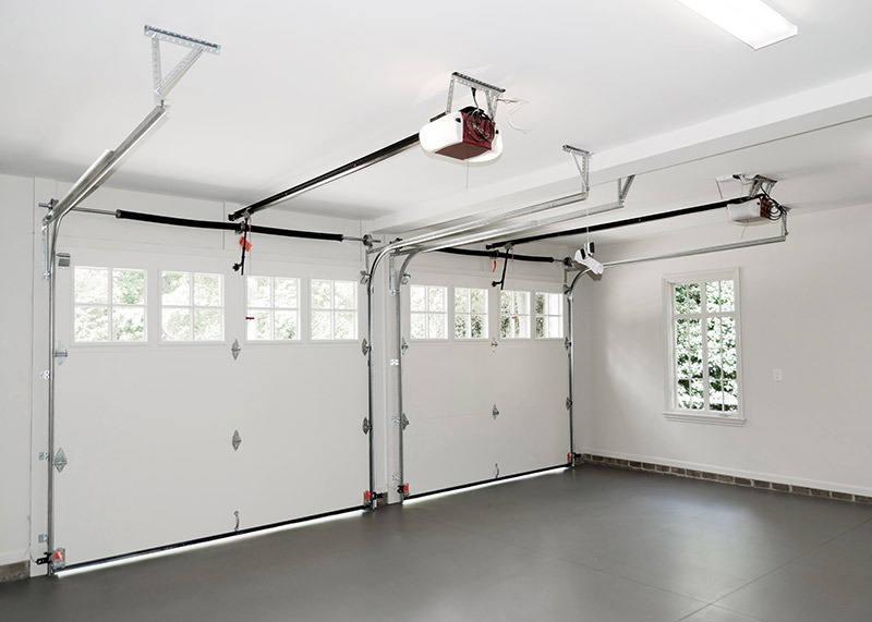 garage door interior