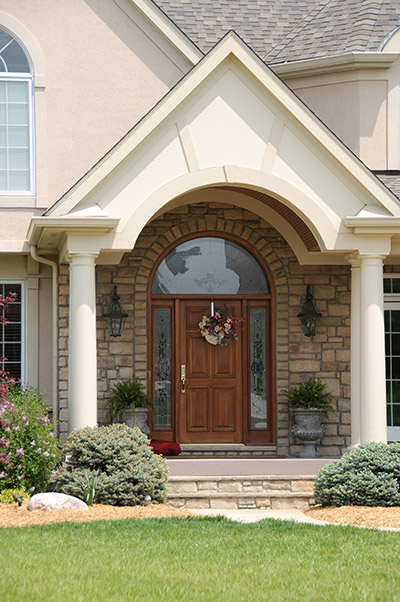 Front door installation in chicago for Front entry door installation