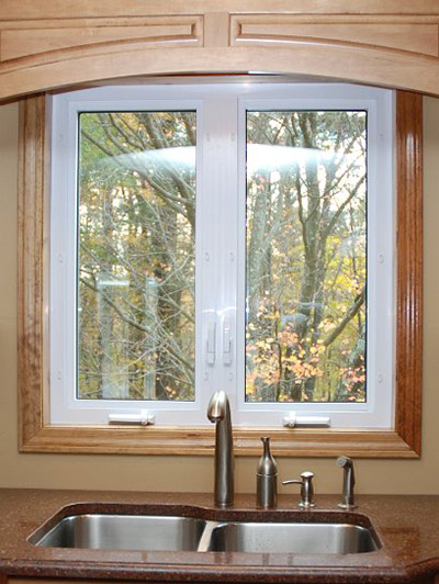 Casement Windows Are Another Extremely Popular Option And They Look Great  In A Kitchen. Why You Ask?