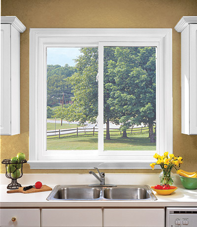 Sliding Windows Are Made For Kitchens