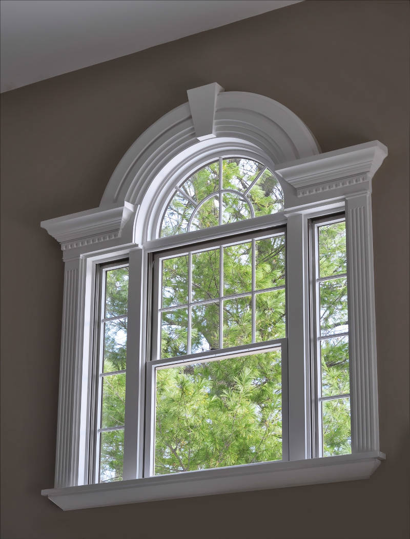 elegant window frame