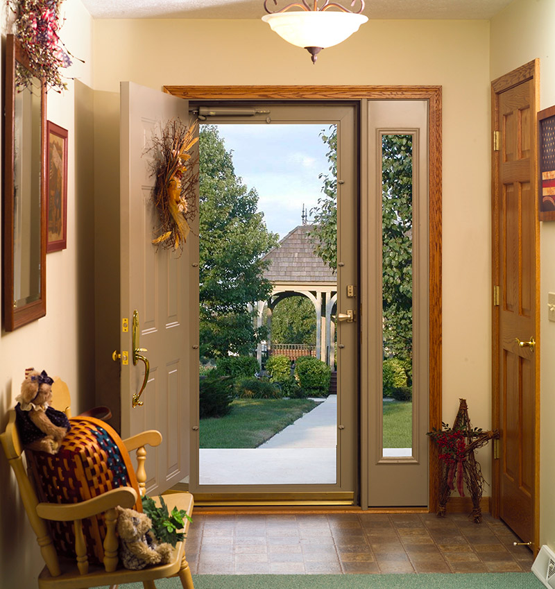 entryway storm door
