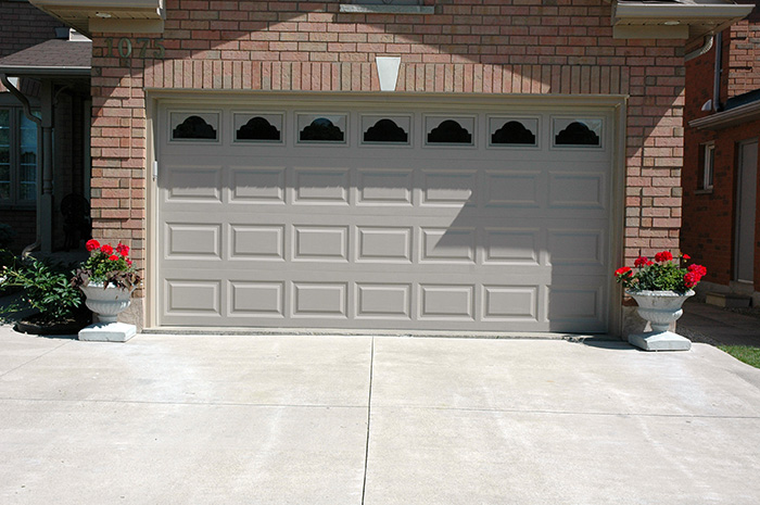 garage door with windows will increase your home resell value